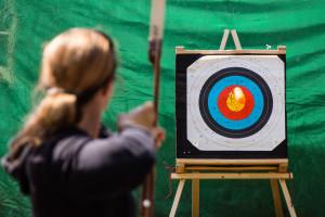 125 // 365 - Take your mind, aim for your target… // Nimm Deinen Verstand, ziele auf Dein Ziel...